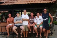 Turk, Andy Cowden, Laurence Norwood, Ray McAvery, Lee Nelson & Neil Russell (Goa-India)