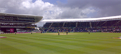 Kensington Oval before play