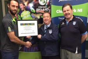 Carrickfergus Cricket Club Gain Clubmark NI Re-Accreditation