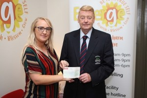 Derriaghy CC & Emerge Counselling Services Team Up