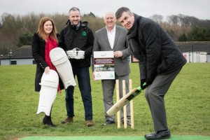 Dunmurry Cricket Initiative Gets Boost with Alpha