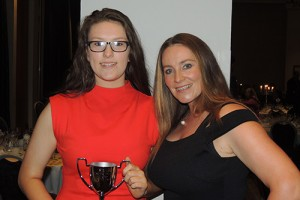 LADIES BRIGHTEN UP NCU DINNER