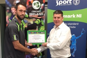 Instonians Cricket Club Gain Clubmark NI Accreditation