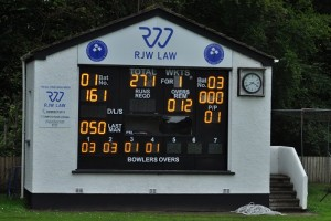 STATE OF THE ART ELECTRONIC SCOREBOARD AT MUCKAMORE CC