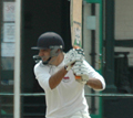 Waringstown's Ijaz Ahmed (C) Ian Shields