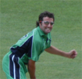 Ireland's most capped cricketer Kyle McCallan