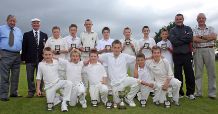 Donemana U12 winners of league and cup
