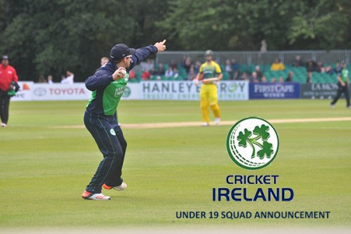 IRELAND U19 SQUAD SELECTED FOR WORLD CUP QUALIFIER